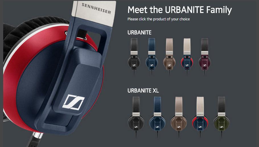 bdc2f90666c Let your ears be loved: Sennheiser launches URBANITE headphones